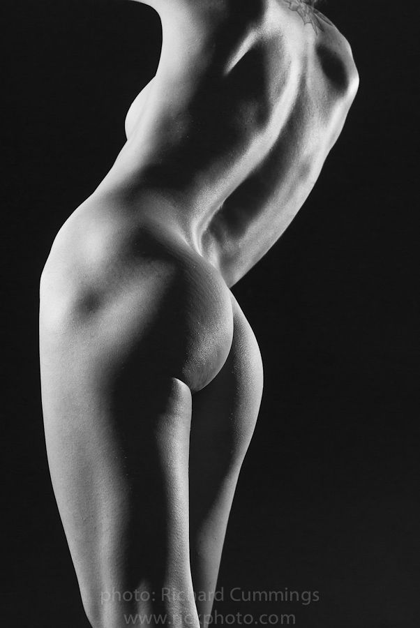 Criticising Nude fitness women black and white photography has