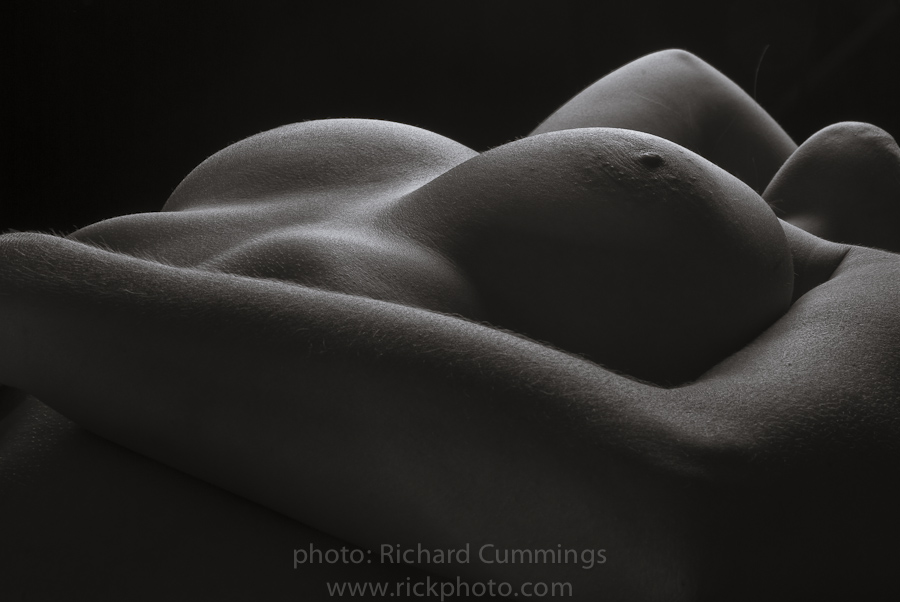 The world reclining nude black and white where